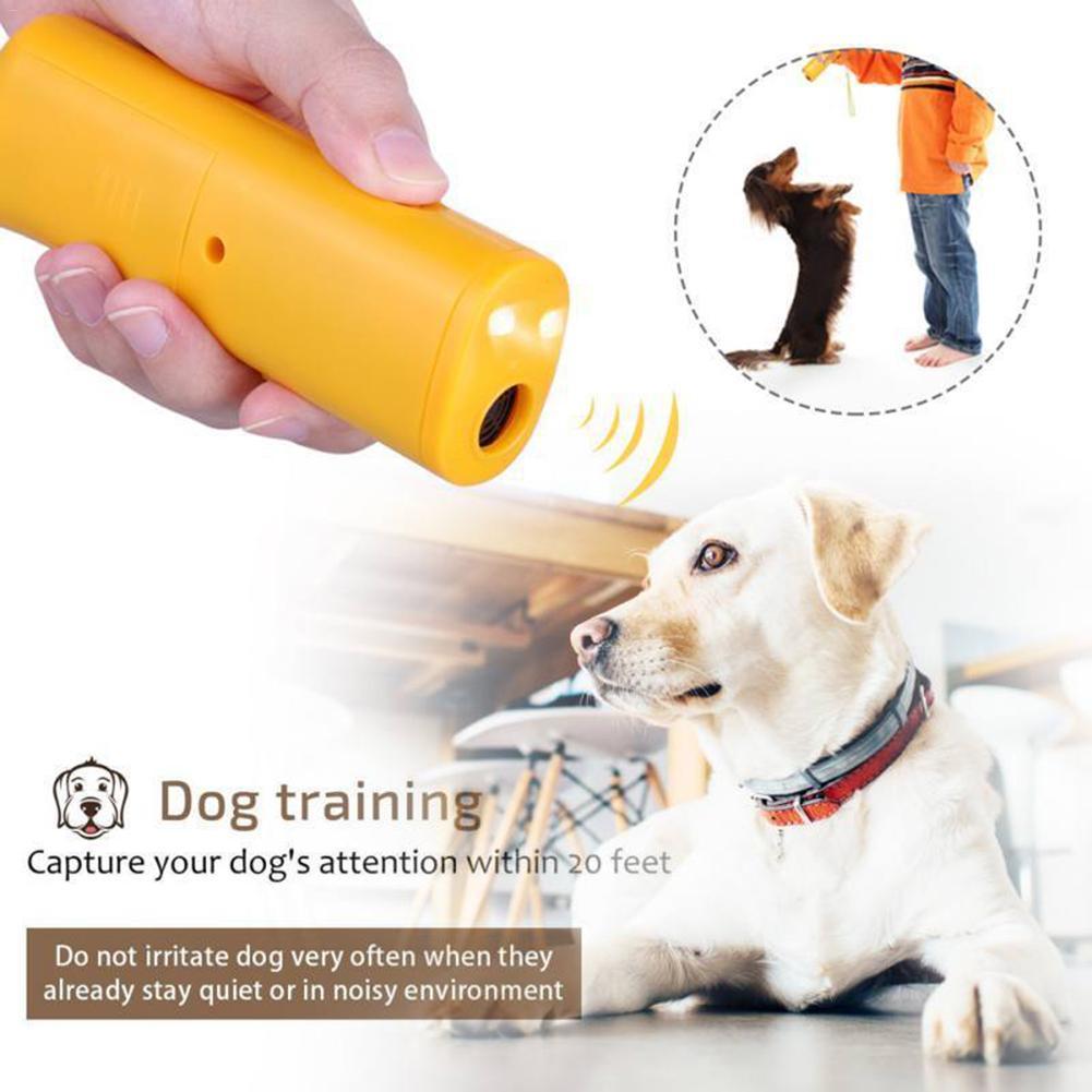 font b Pet b font Dog Repeller Anti Barking Stop Bark Training Device Trainer LED