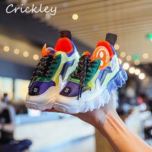 Spring Autumn Children Sneakers Candy Color Soft PU Leather Sport Shoes for Kids Boys Running Shoes Fashion Girls Clunky Sneaker