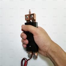 DIY интегрированная ручная точечная сварка ручка точечная сварка игла 18650 электро-древесное приспособление
