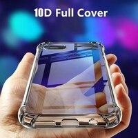 Funda de silicona transparente para móvil, funda suave de TPU a prueba de golpes para Xiaomi Mi 9 8 SE A2 Lite Play Poco F1 6X Note 3 Mix 2S 2 5X 6 5s Plus 5