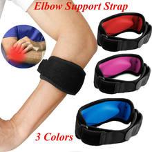 Eua tênis cotovelo cinta tendonite golfistas gel banda alívio da dor de golfe apoio esportes casuais joelheiras