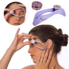 Женский эпилятор для удаления волос на лице, для удаления резьбы, для лица, Defeatherer, сделай сам, инструмент для макияжа, красоты, для щек, бровей