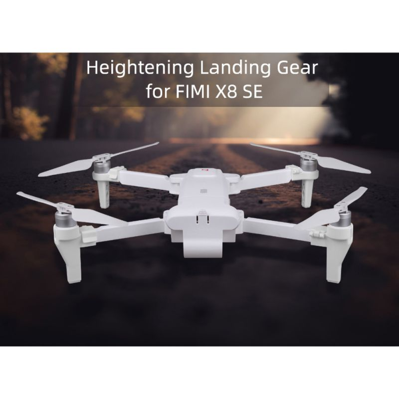 1 Pair Of Landing Gear Intensify Landing Feet Support Camera Gimbal Protection Tripod Leg Extensions For Xiaomi UAV FIMI X8 SE