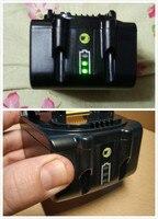 Mais barato 2000mah 3000mah bateria led tipo para makita 18 v bateria da ferramenta elétrica bl1815 bl1830 bl1835 lxt400 bl1840 bl1850 bl1860