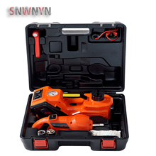Multifunctional 12V 5T Electric Hydraulic Jack Car jack Electric Torque Wrench Protable Tire Lifting Car Repair Tool 45CM