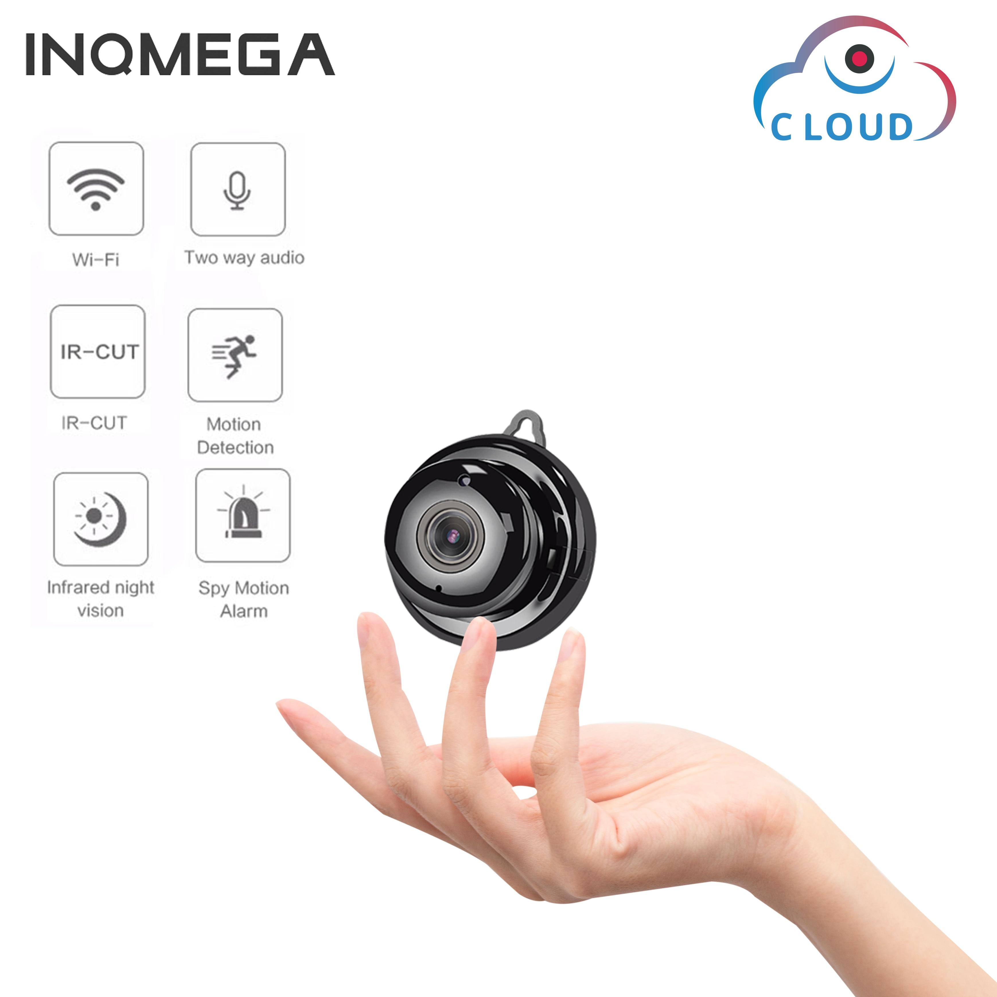 INQMEGA 1080P Wireless Mini WiFi Camera Home Security Camera IP CCTV Surveillance IR Night Vision Motion Detect Baby Monitor P2P