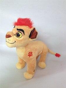 Image 5 - את האריה משמר Kion בפלאש צעצוע חמוד חיות פרווה 35cm 14 תינוק ילדים בני ילדים מתנות