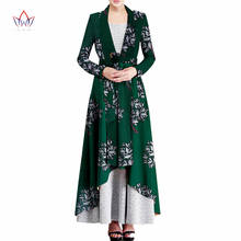 outerwear New African trench coat for women plus size Dashiki Africa Traditional