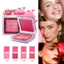 2 Colors Blush Palette Shimmer Matte Powder Baked Cheek Face Blusher Makeup Cosmetics