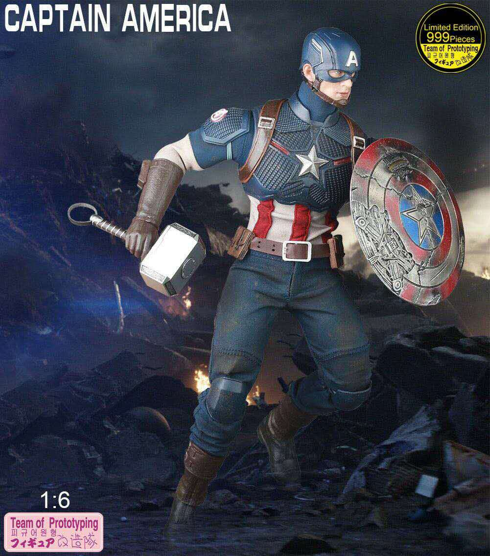 25cm-font-b-marvel-b-font-captain-america-action-figrue-team-of-prototyping-1-6-limited-edition-999-pieces-articulated-moveable-figure-toys