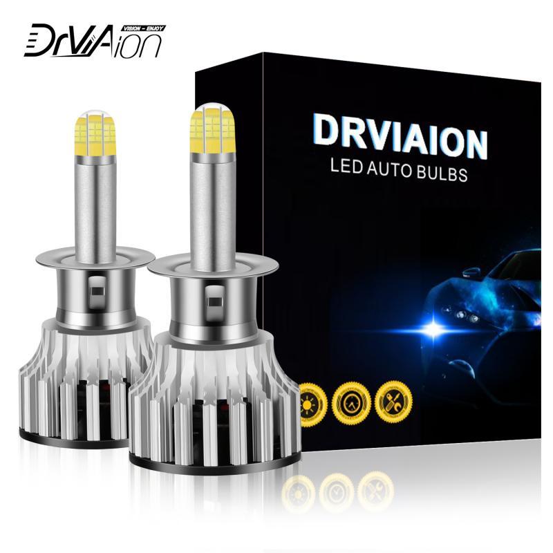 H1/h7/h8/9005/9006 nova chegada com série g6 8 lados 24led lâmpadas 6500 k iluminação de 360 graus faróis do carro led