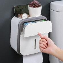 GURET портативный держатель для туалетной бумаги для туалета, настенный держатель для туалетной бумаги в рулоне, чехол для бумажной подставки, коробка для хранения трубок, аксессуары для дома и ванной комнаты