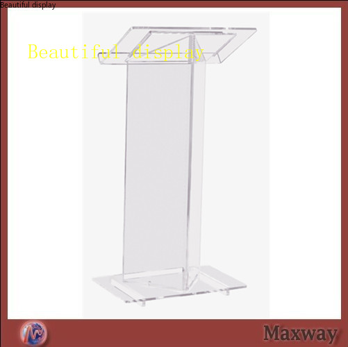 The Sanctity  Transparent Acrylic Podium Of The Church Acrylic Podium