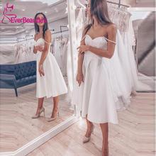 Короткие свадебные платья 2020 элегантные трапециевидные богемные