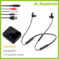 Avantree HT4186 Беспроводные наушники для просмотра ТВ, шейные наушники слуховой набор w/Bluetooth передатчик для оптики