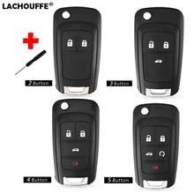 цена на 2/3/4/5 Buttons Remote Key Case For Chevrolet Cruze 2014 2011 2012 2010 Impala Camaro Aveo Epica Lova Car Flip Folding Key shell