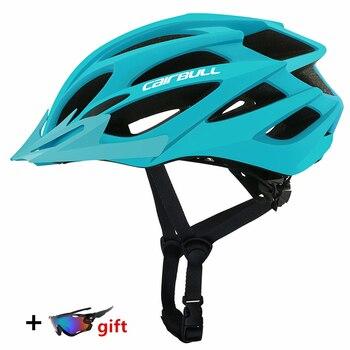 Mais novo ultraleve ciclismo capacete integralmente-moldado da bicicleta capacete da bicicleta mtb estrada equitação chapéu de segurança casque 1