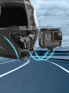 Motorcycle Helmet Chin Stand Mount Holder for GoPro Hero 9 8 7 6 5 4 3 Xiaomi Yi Action