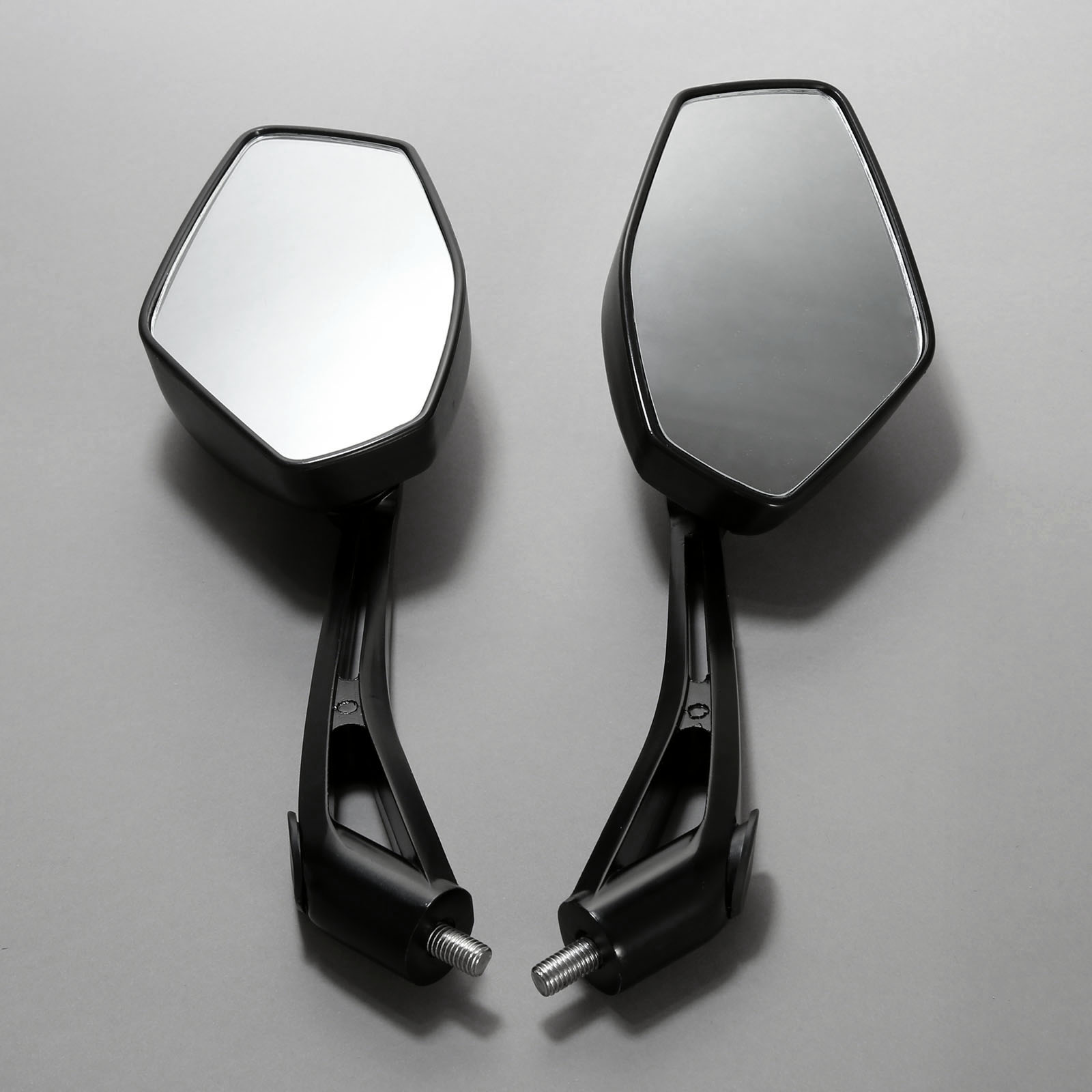 2Pcs Pair Motorcycle Mirror Scooter E Bike Rearview Mirrors Electrombile Back Side Convex Mirror 8mm 10mm Carbon Fiber in Mirror Covers from Automobiles Motorcycles