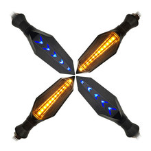 Replacement Turn Signal Light Blinker 2pcs Motorcycle LED Brake Flow Indicator Amber Bulbs(China)