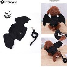 Pet Costume Halloween Dog Small Cat/Dog Bat Wings Cat Hallowen Accessories Decorations