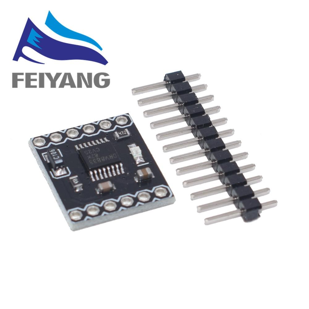 10PCS DRV8833 2Channel DC Motor Driver Módulo Board 1.5A 3V-10V