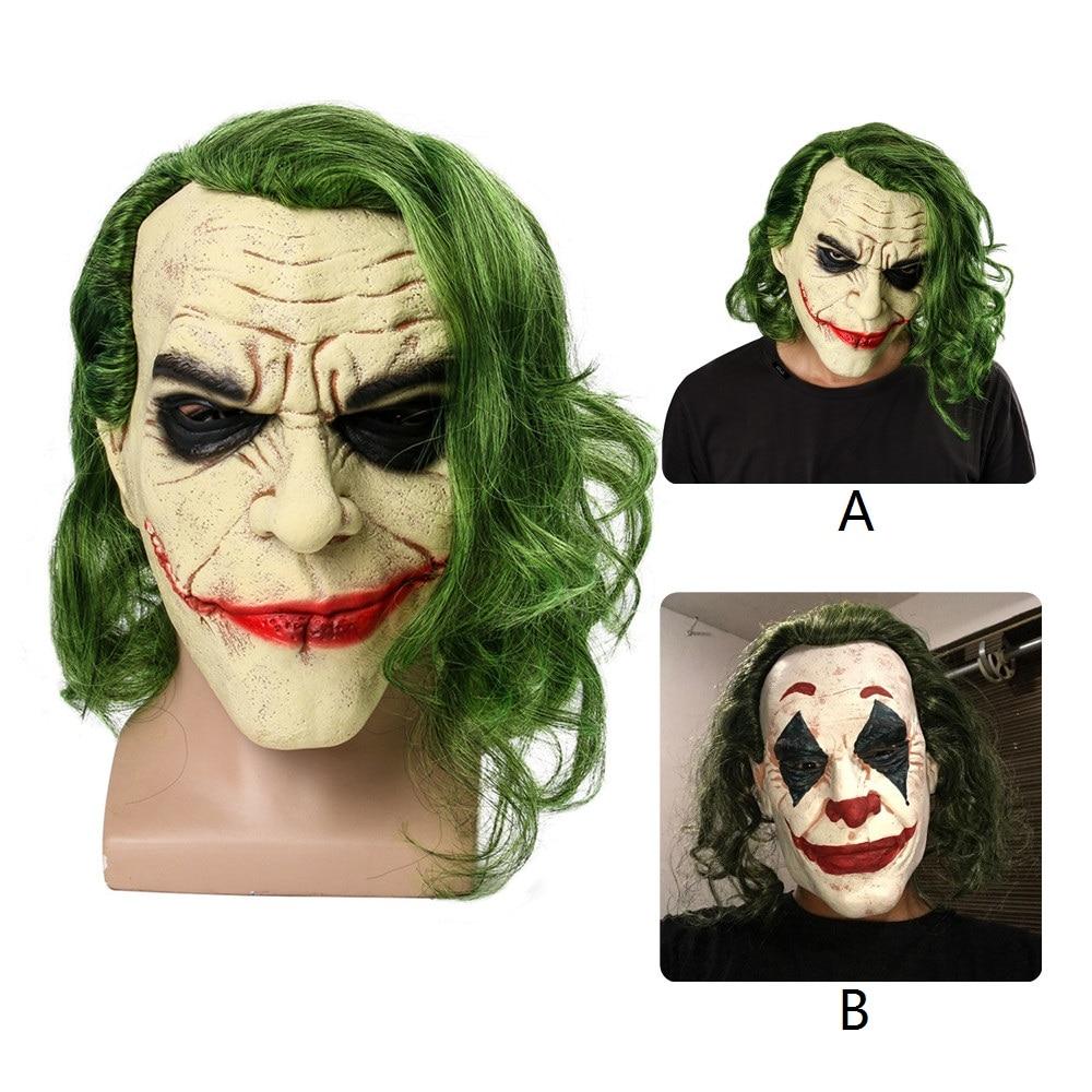 NEW BATMAN ARKHAM CITY HENCHMAN Deluxe Adult Latex Mask EVIL CLOWN HALLOWEEN