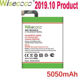 WISECOCO 5050mAh BM39 батарея для мобильного телефона Xiaomi Mi6 Mi 6 в наличии последняя продукция высокое качество батарея + номер отслеживания