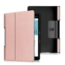 30 шт./лот Флип PU чехол для lenovo Yoga Tab 5 YT-X705/Yoga Smart Tab YT-X705F 10,1 ''защитный чехол для планшета