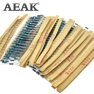 Image 3 - AEAK 600PCS /Set 1/4W Resistance 1% 30 Kinds Each Value Metal Film Resistor Assortment Kit resistors