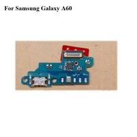 새로운 삼성 갤럭시 A60 A6060 USB 도크 충전 포트 마이크 마이크 모듈 보드 플렉스 케이블 삼성 갤럭시 A 60 SM-A6060