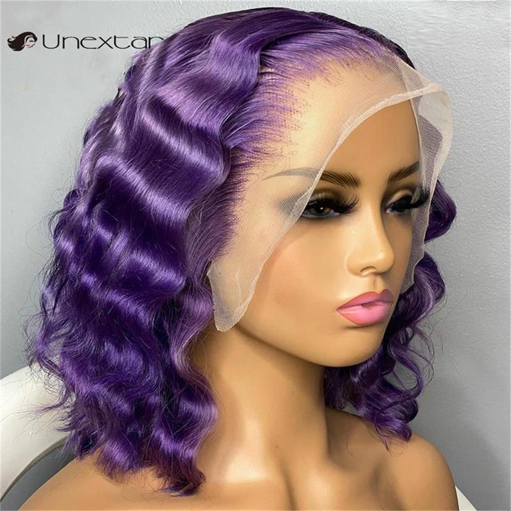 laço perucas de cabelo humano bob peruca para mulher