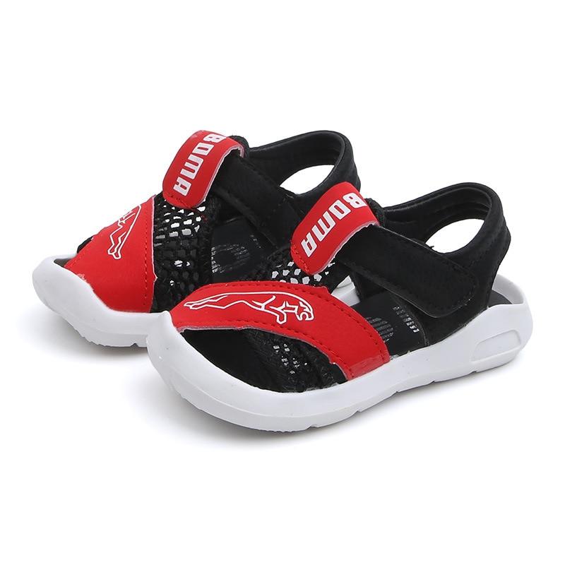 New Summer Boys Air Mesh Casual Shoes Children Baby Girl Beach Sandal Fashion Toddler Sport Sandals Size 21-30 Fashion