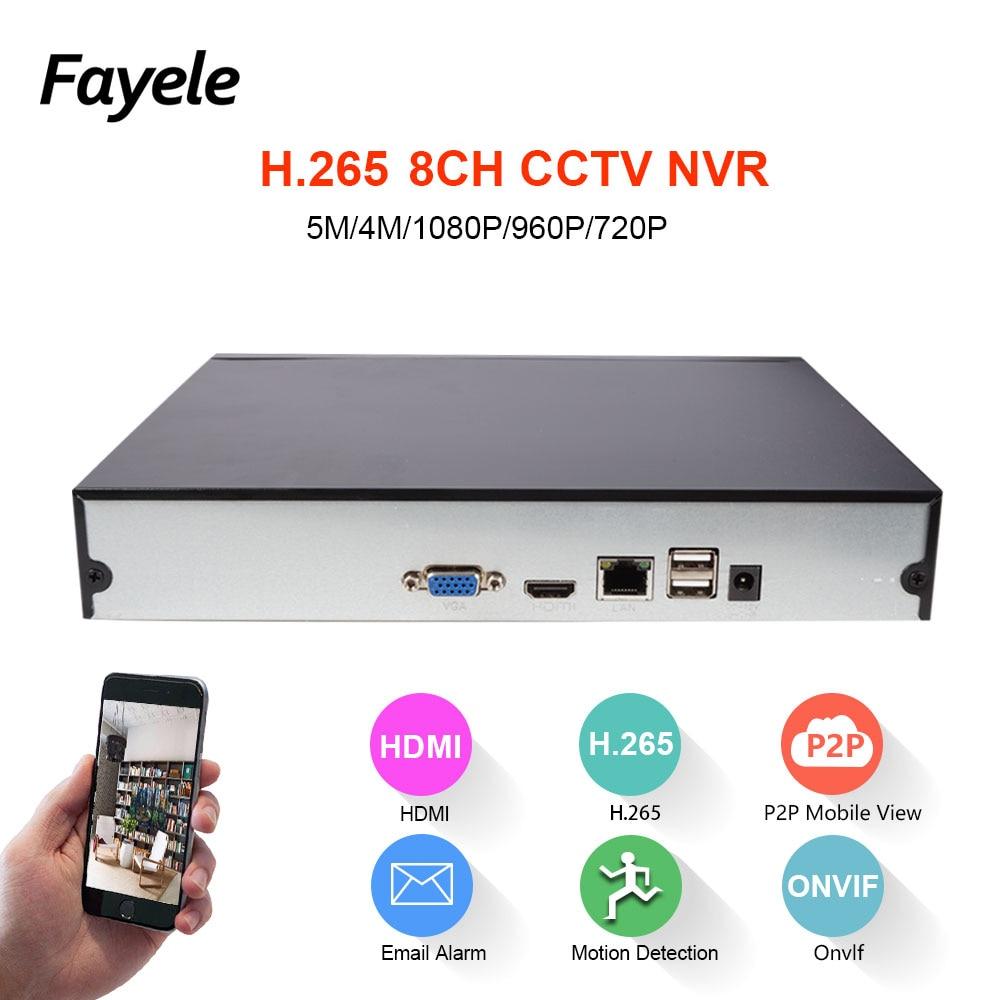H.265 Security 8CH 16CH HD IP 1080P 5MP 4MP NVR 1.2U 2 SATA Port - Siguria dhe mbrojtja - Foto 3