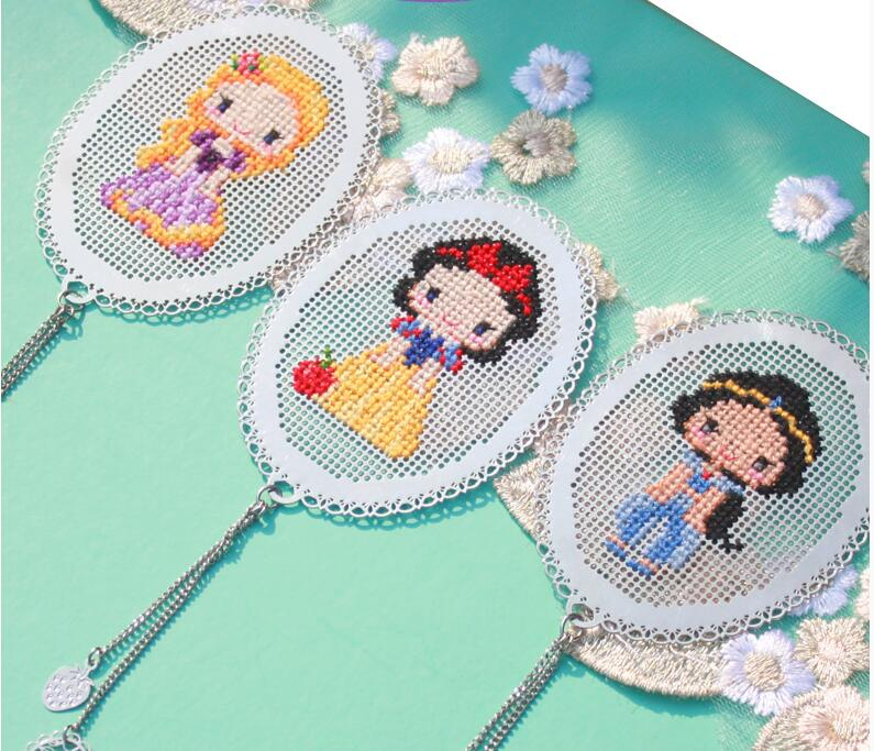 s Fairy tale princess Craft Stitch Cross Stitch Bookmark   Needlework Embroidery Crafts Counted Cross-Stitching Kit