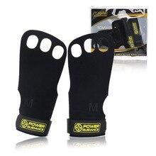 1 пара, перчатки для спортзала из натуральной кожи, защита ладоней, ручки для рук, Кроссфит, гимнастика, защита, подтягивающая штанга, перчатки для тяжелой атлетики