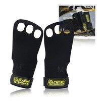 1 пара перчаток из натуральной кожи для спортзала, защита ладоней, ручки для кроссфита, гимнастические перчатки