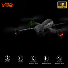 4K Drone Professionele Gps Borstelloze Dron Fpv Quadrocopter Auto Follow Me Drones Met Camera Hd Vs Fimi SG907 K1 f11 Pro E520(China)