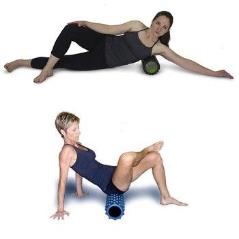 ROEGADYN Fitness Roller Black Yoga Foam Roller Fitness Yoga Accessories Yoga Cube Foam Roller Muscle Relax Foam Massage Roller 5