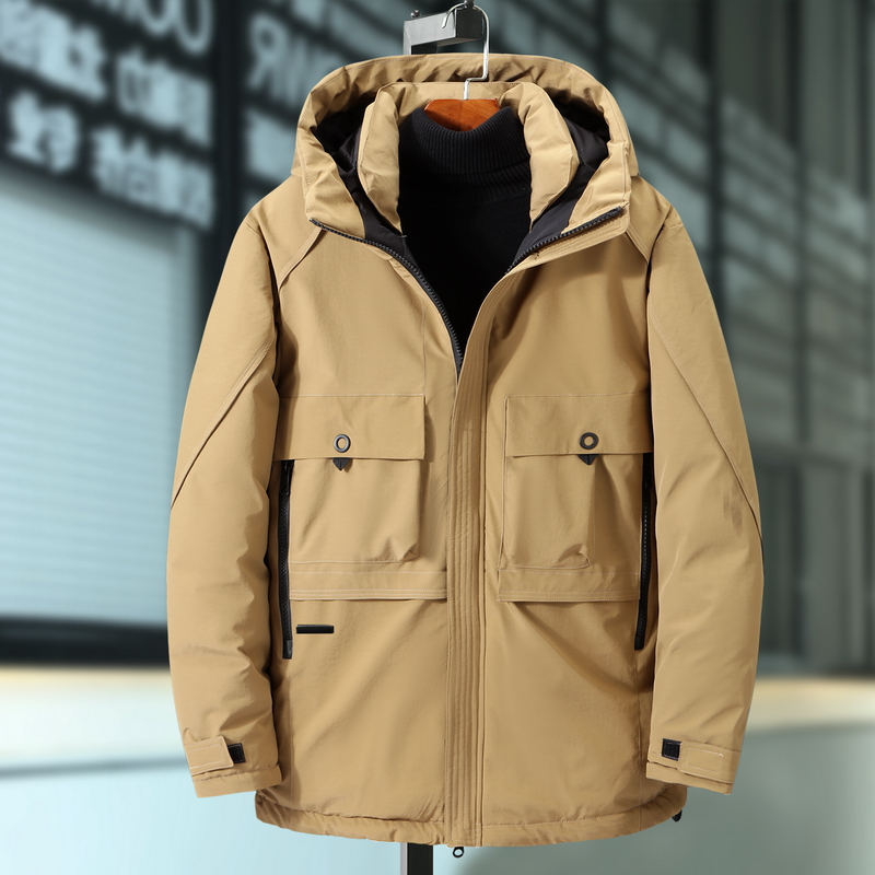 Extra Large Men's Jacket Thick Big Man Thick Coat Winter Oversized Hooded Tooling Men Cotton Jacket Plus Size 7XL 9XL 8XL  Parka
