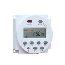 High Quality CN101A 12V 24V 110V 240V Digital LCD Power Timer Programmable Time Switch Alarm Clock Light Timer Switch Relay 2019