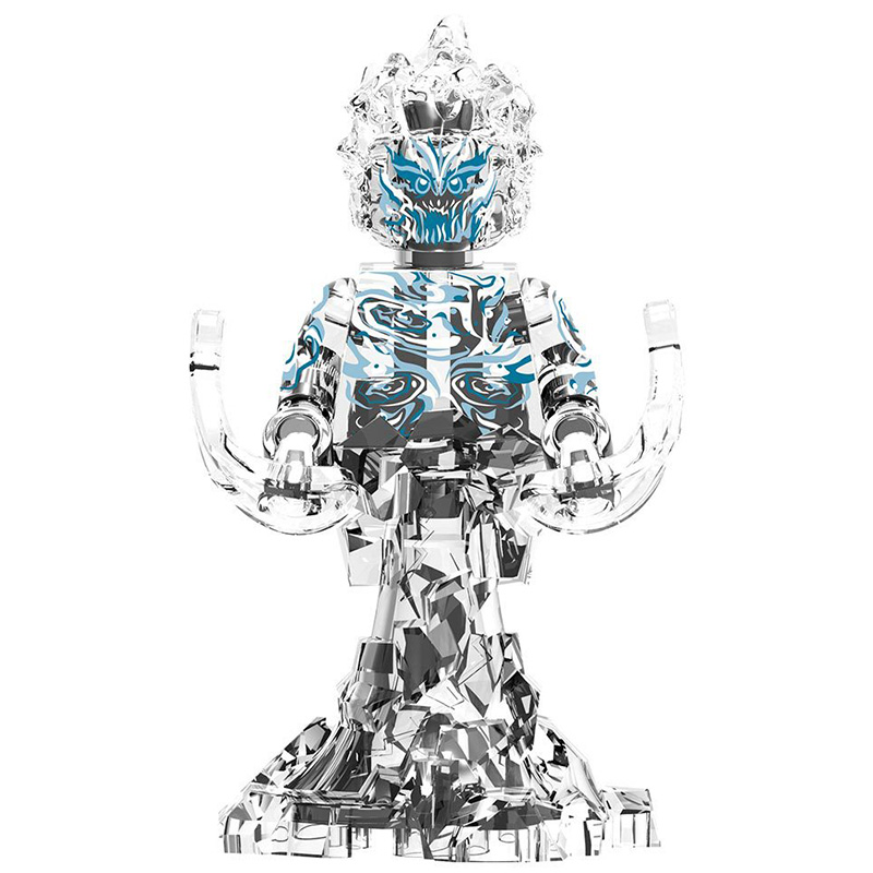 Elementals Hydro Man Morris Bench Water Magnum Zephyr Wind Element Hellfire Melting Man Blocks Toys