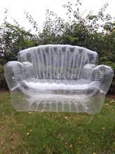 Canapé gonflable deux places pour la salle de séjour, meuble Royal pliable, Durable, pour l'intérieur et l'extérieur, 15%