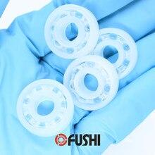 Rolamento pp 606 608 626 628 685 688 (4 pces) esferas de vidro rolamentos de esferas de plástico