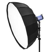 Selens 65cm/85cm/105cm מפזר רפלקטור Parabolic מטריית יופי צלחת Softbox עבור פלאש פוטוגרפיה אור תיבת נשיאת תיק