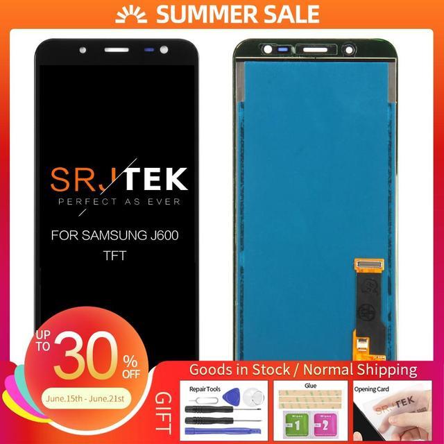 """5.6 """"LCD Per Samsung Galaxy J6 2018 J600 SM j600F J600g J600fn/ds Display LCD Dello Schermo di Tocco di SensorReplacement Repari parti"""