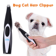 Pet Foot Hair Trimmer for Dogs/Cats Mini  Portable Shearing Machine USB Rechargeable Ear Clipper/ Electrical Scissor