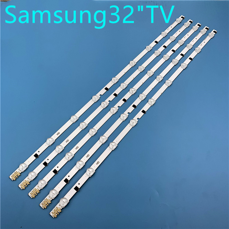 5pcs X 32 Inch LED Backlight Lamp Strip For SamSung 32'' TV UA32F4088AR UA32F5500ARXSJ 2013SVS32H D2GE-320SC0-R3 9-leds 650mm
