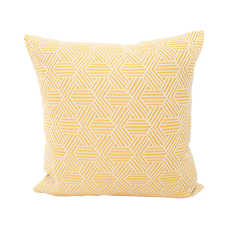 45 45cm yellow cushion covers no inner decoration maison geometric pattern throw pillow cushions home decor X56 in Cushion Cover from Home Garden