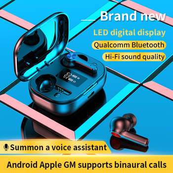 LONG DISCO Bluetooth Headphones 5.0 TWS Earbuds Wireless Earphones Touch Control HiFi 8D Surround Headset Earpods fone de ouvido 2